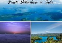 Remote Destinations in India