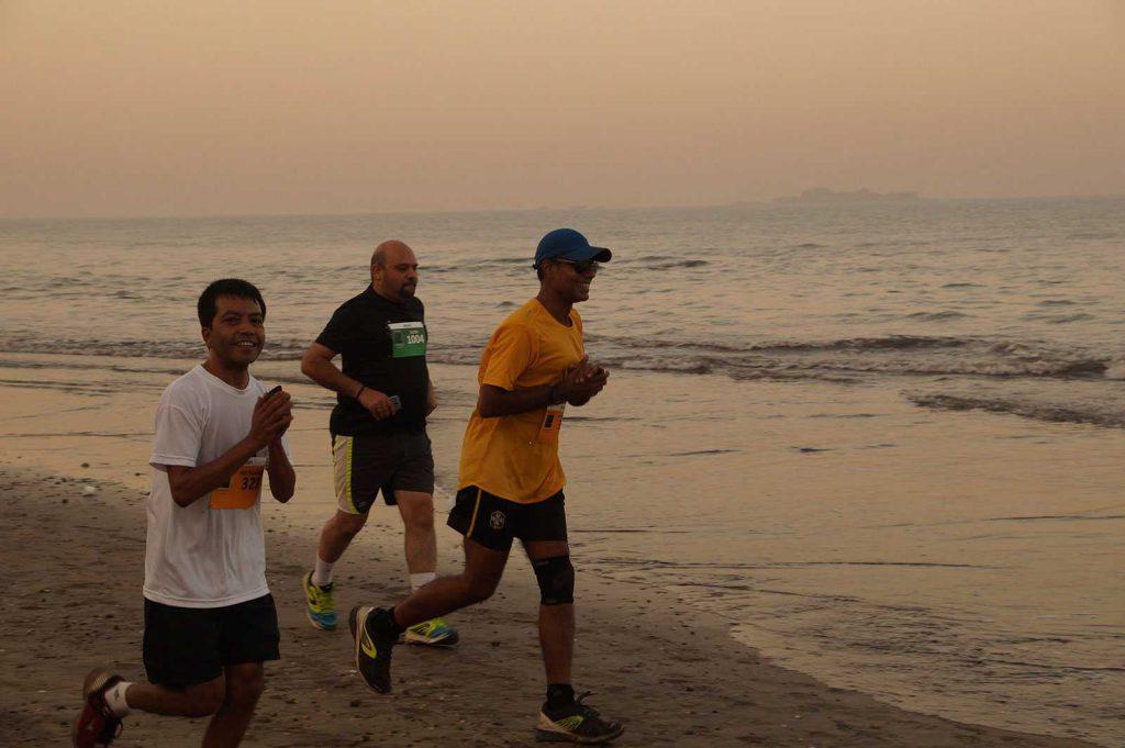 Alibag Running and Living Beach Half Marathon