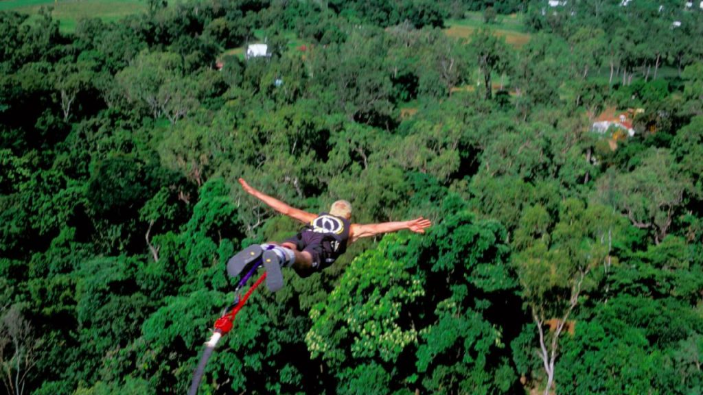 Bungy-Jumping Cairns