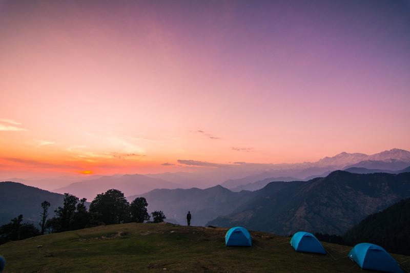 Camping-in-Chopta