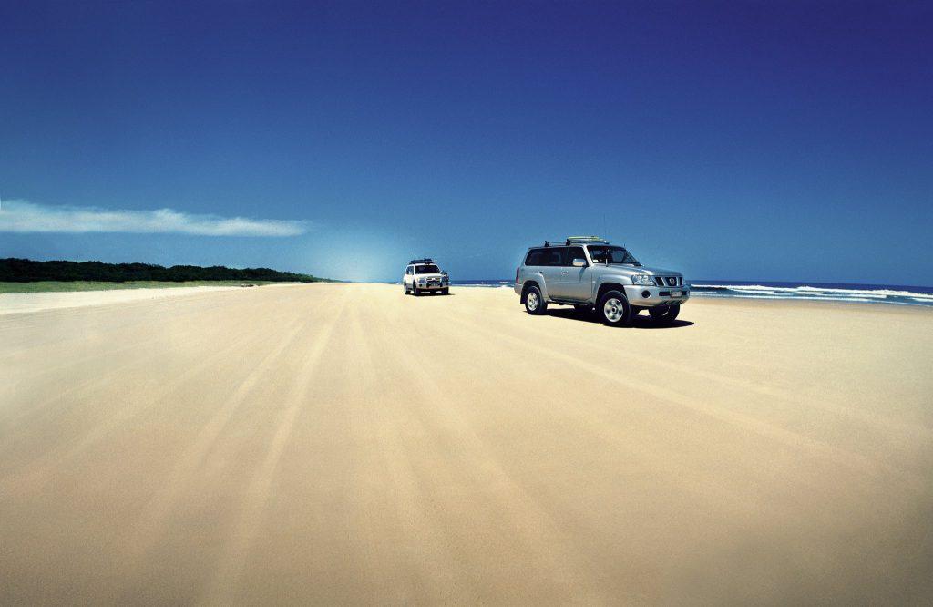 Four Wheel Drive on Fraser Island