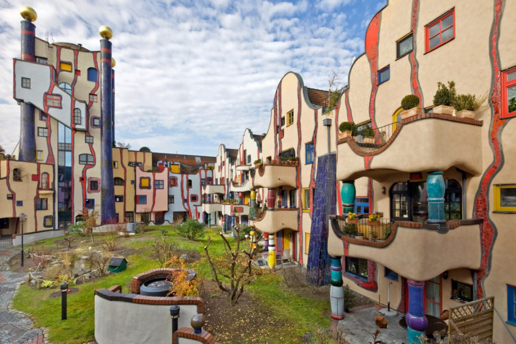 The Hundertwasser House of Plochingen