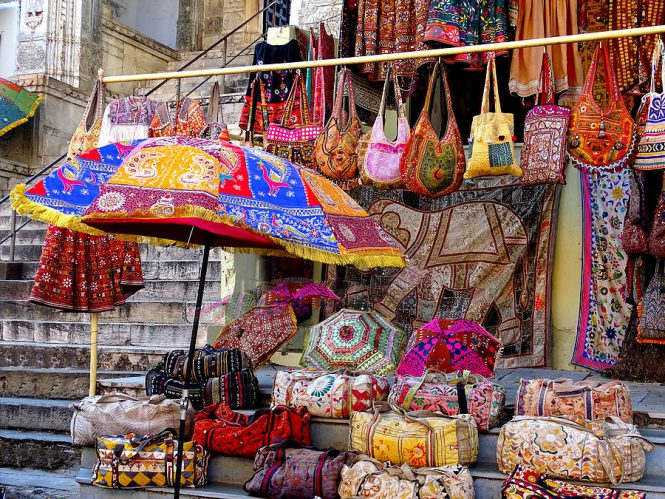 Shopping-in-Jaisalmer