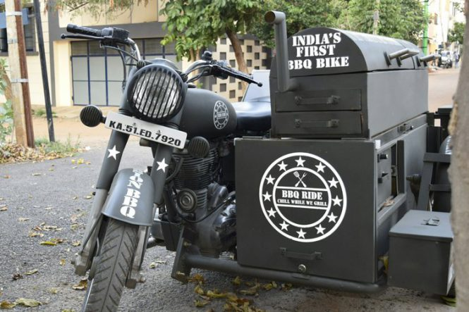 BBQ Royal Enfield