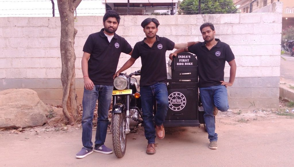 First BBQ Bike Restaurant India