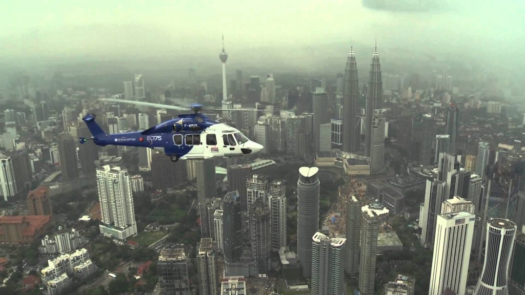 Helicopter Sightseeing in Kuala Lumpur