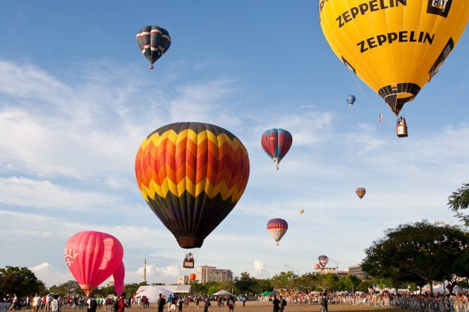 Hot Air Balloon Ride at Putrajaya