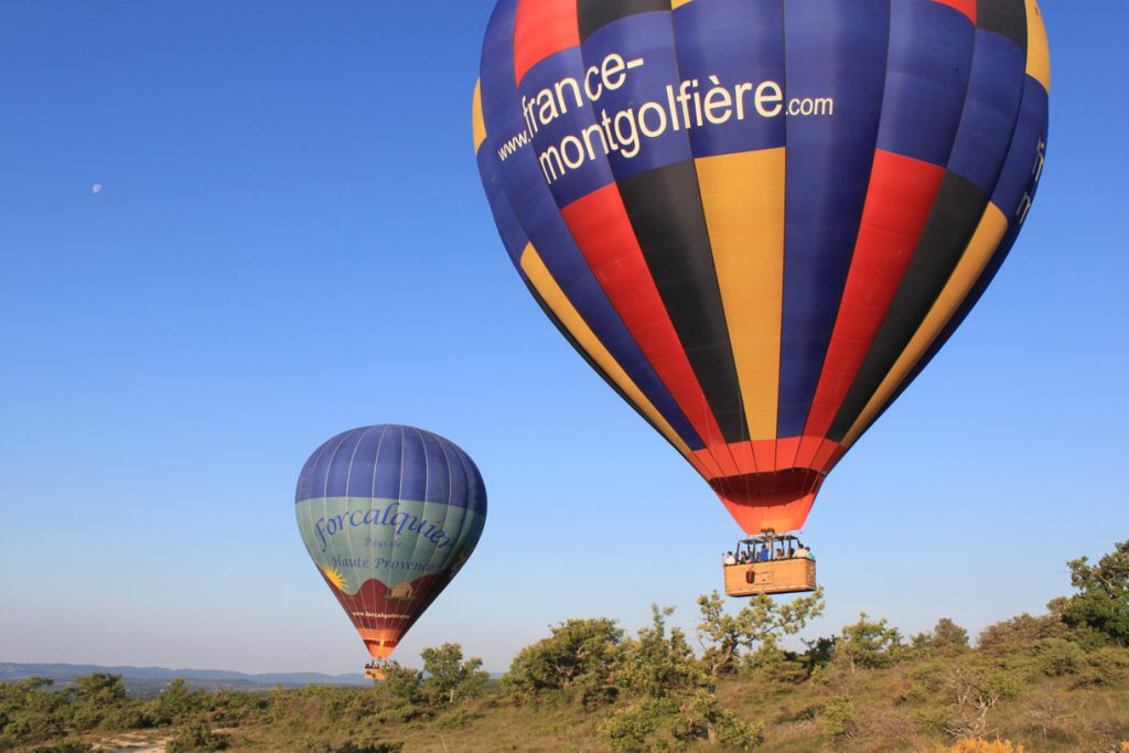 Hot Balloon Ride at Burgundy