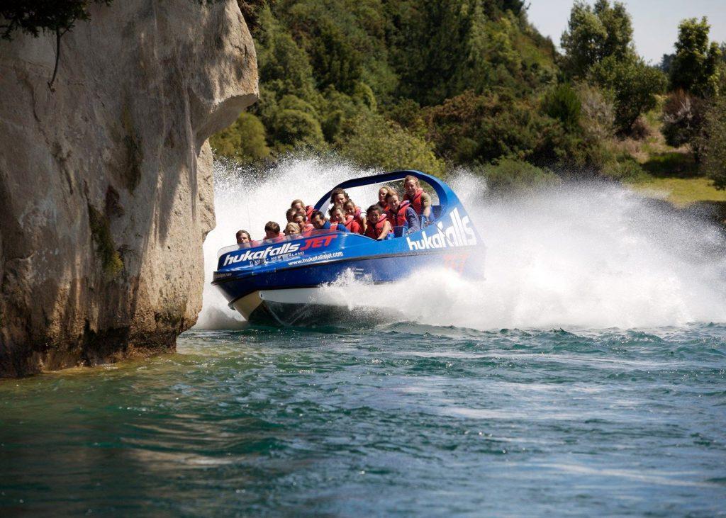 Jet Boating in Lake Taupo