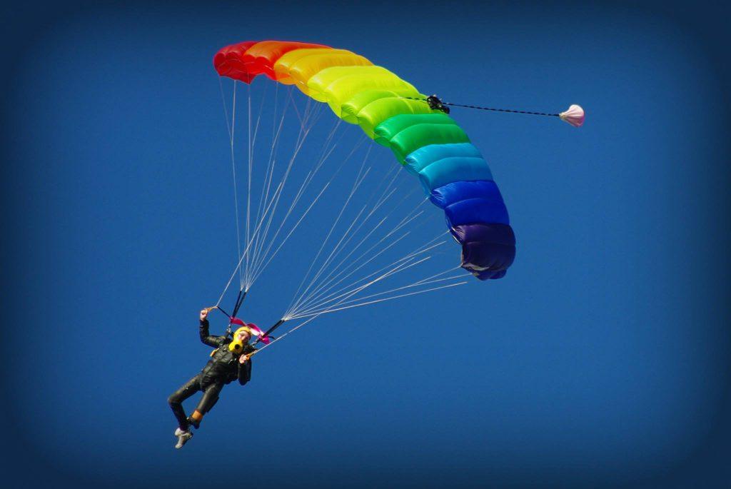 Parachute Jump at Aquitaine