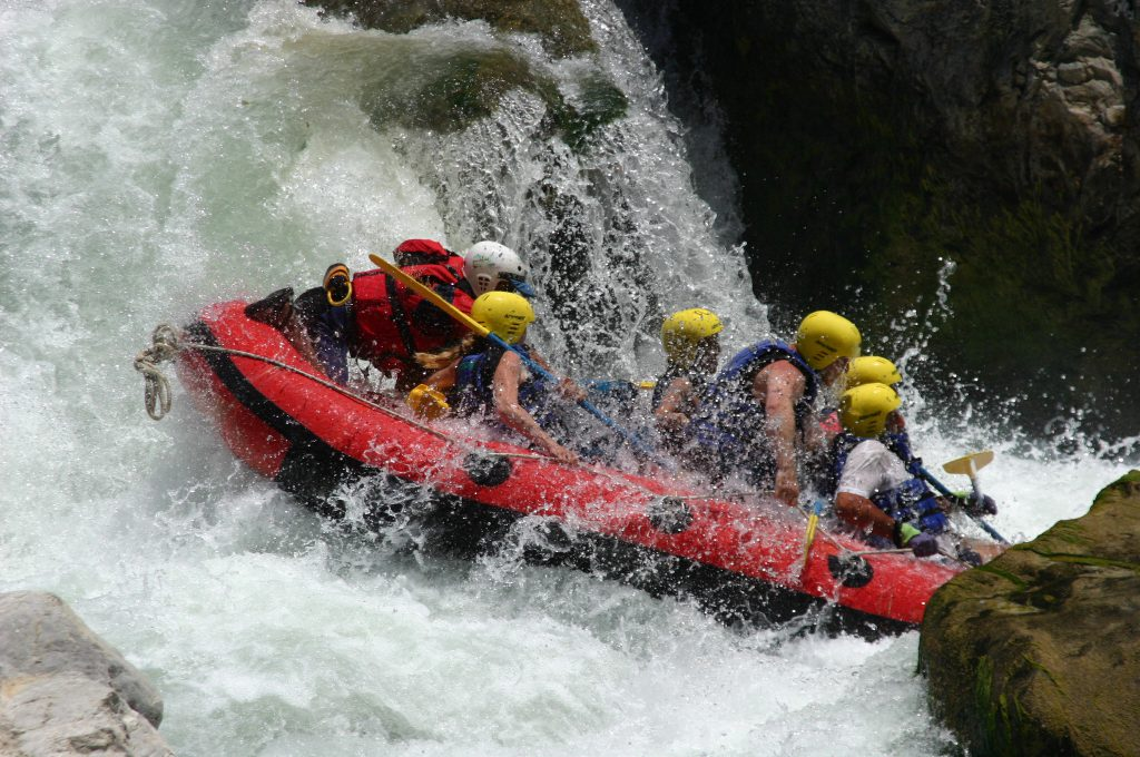 Rafting at Dalaman