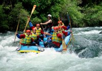 Rafting in Lake Taupo