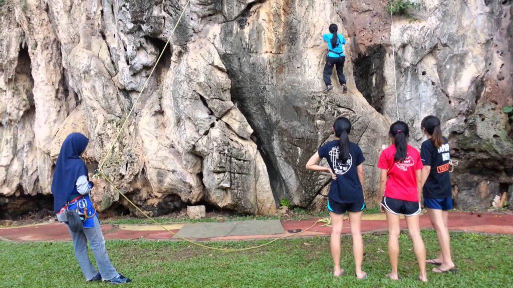 Rock Climbing at Batu Caves