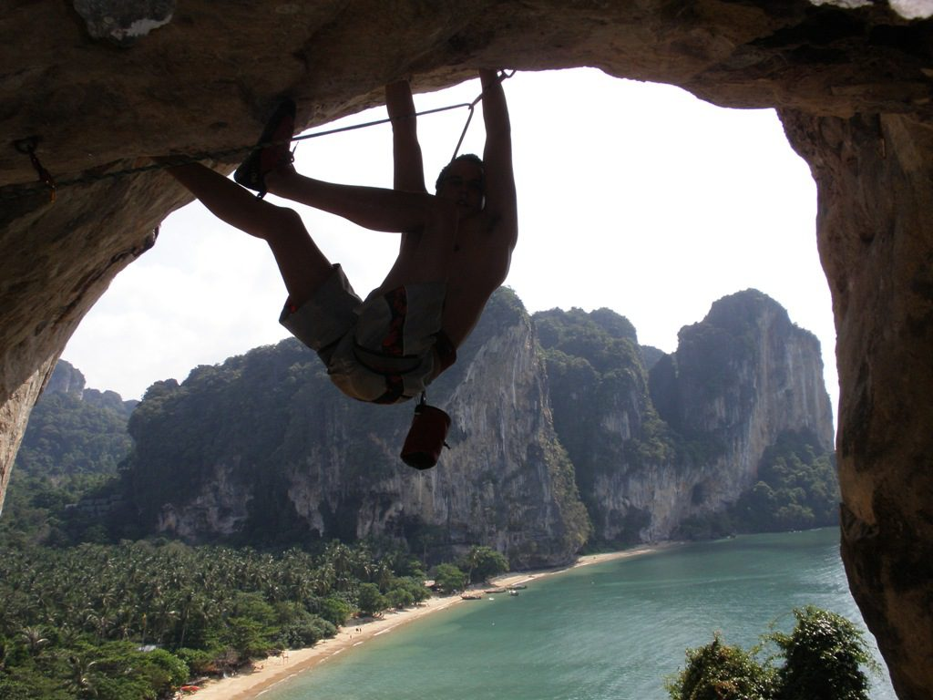Rock Climbing at Tonsai Tower