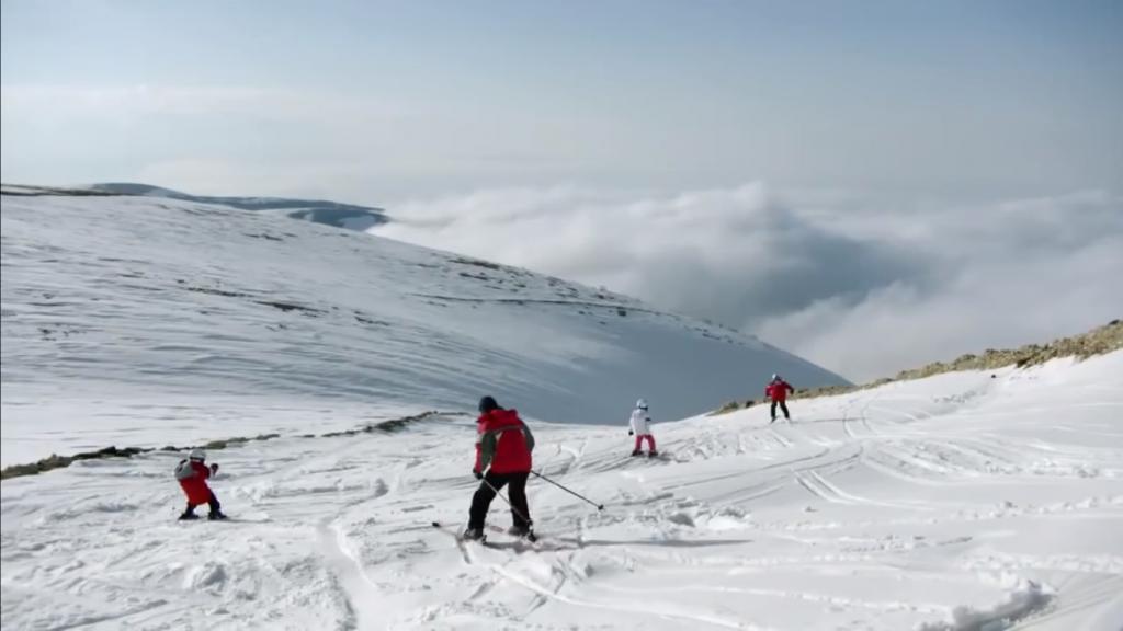 Skiing Turkey