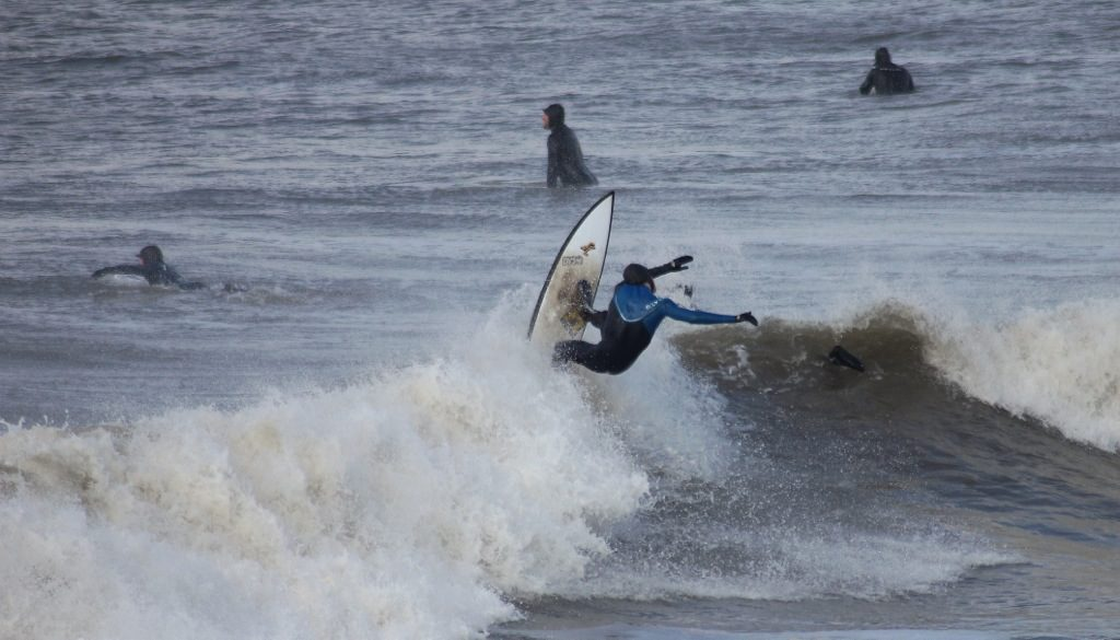 Surfing in Porthcawl