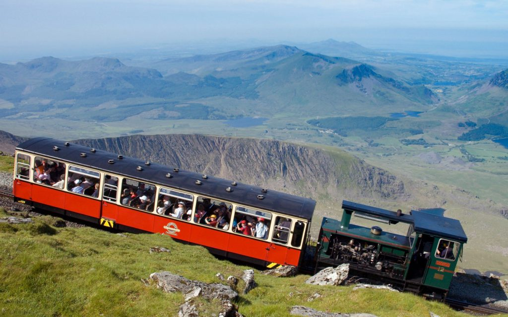 Train Ride to the Summit of Wales