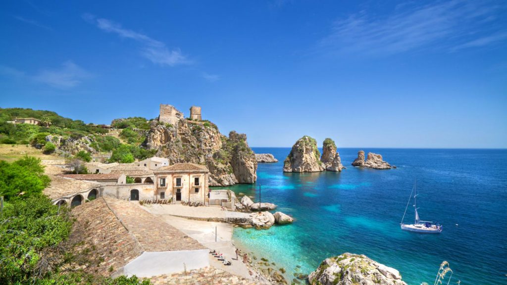 beaches in sicily