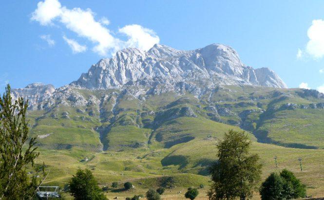 Corno Grande in Abruzzo