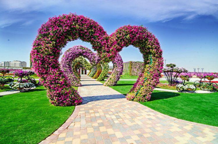 Dubai Miracle Garden-Heart