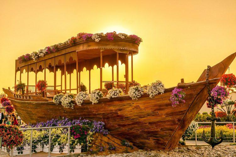 Dubai Miracle Garden-Ship