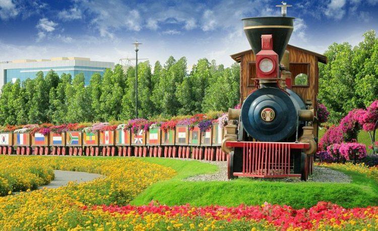 Train - Dubai Miracle Garden