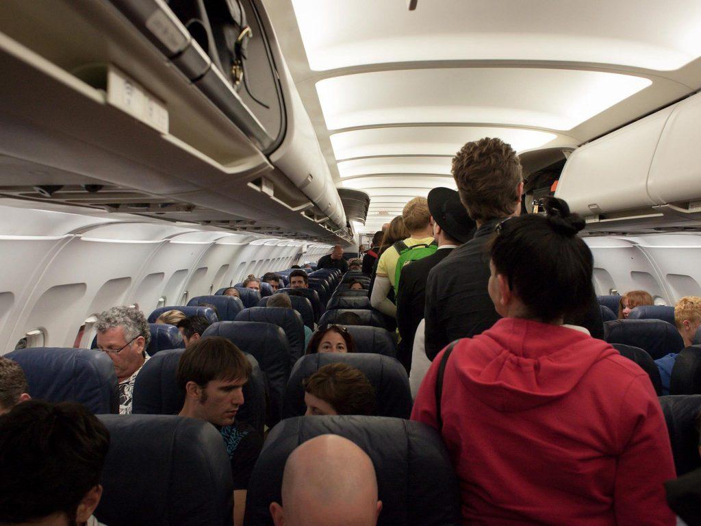 walk in plane