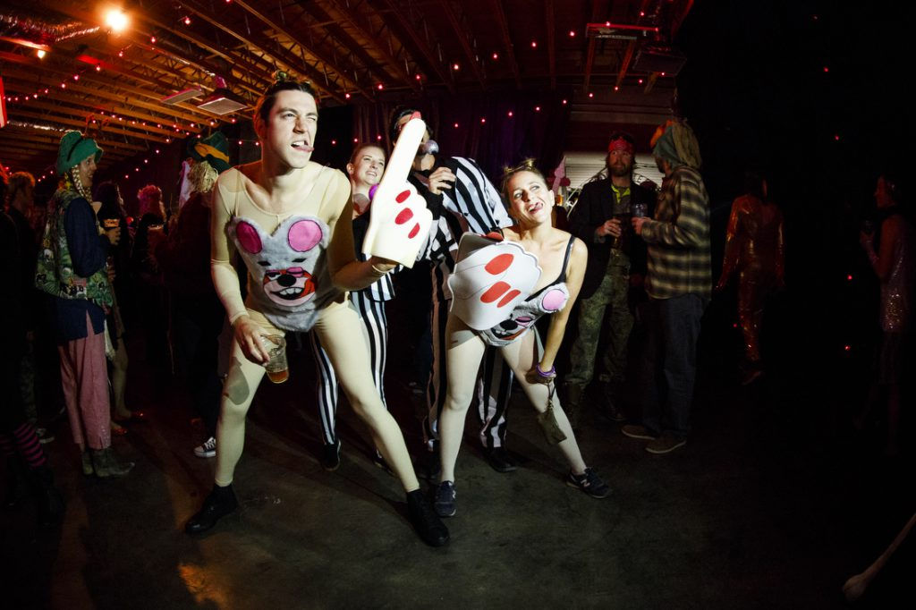 Halloween Warehouse Party